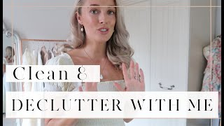 DECLUTTER & CLEAN WITH ME - Sorting Things Out At Home // Fashion Mumblr Vlog