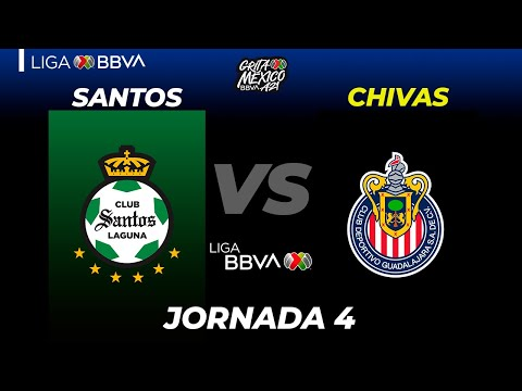 Santos Laguna Guadalajara Chivas Goals And Highlights