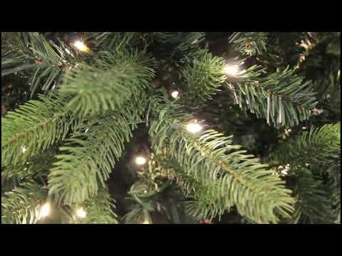 Royal Christmas - Bogota PE / PVC Premium met Warm LED Verlichting - Tak Close-Up