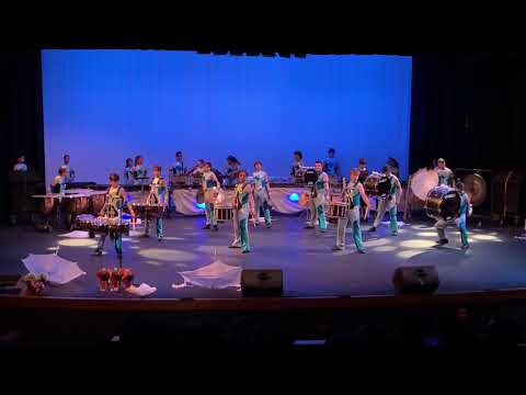 "Brea Olinda High School Drumline 2019 Show ""The Flow"""