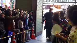 2014年3月23日(日)、平成26年3月場所千秋楽に行ってきました! 初優勝目...