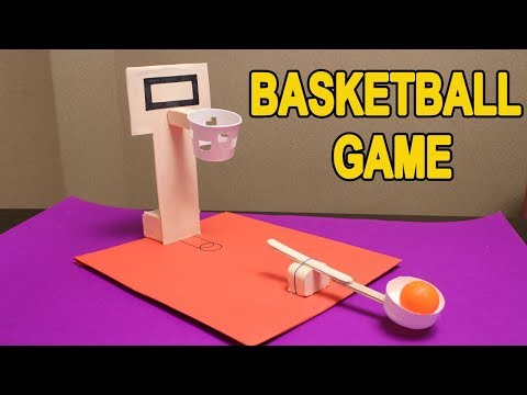 How To Make DIY Basketball Game with Cardboard - DIY Hacks