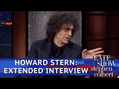 Howard Stern's Extended 'Late Show' Interview