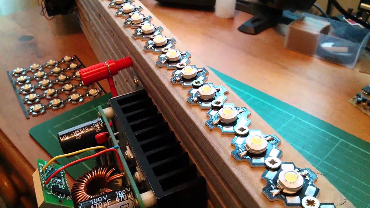 Sequencing 30 High Power Leds With Arduino And Led Drivers 1 Youtube Rgb Pwm Driver For 350ma V3 Using Pic12f629