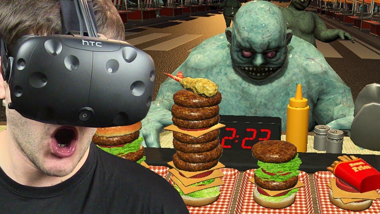 DOSTAŁEM PRACĘ W FOOD TRUCKU – Dead Hungry (HTC VIVE VR)