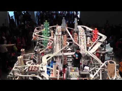 Chris Burden's Metropolis II at LACMA