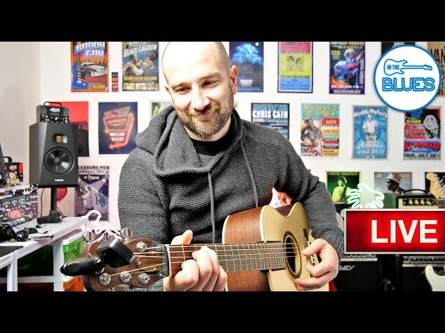 Unboxing a Fold Up Acoustic Guitar & What's Coming Up! (Live Replay)