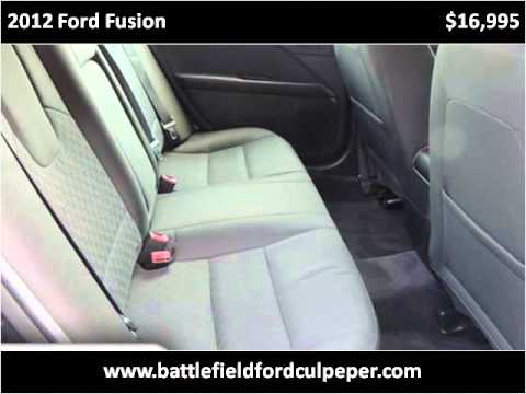 2012 ford fusion used cars culpeper va youtube. Cars Review. Best American Auto & Cars Review