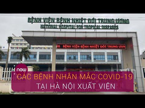 Các bệnh nhân mắc Covid-19 tại Hà Nội xuất viện   VTC Now