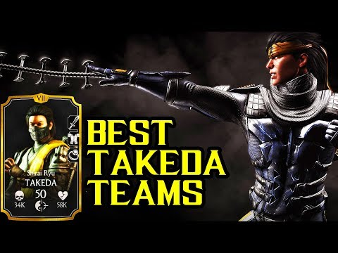 Best Shirai Ryu Takeda Teams in MKX Mobile. LIVE Stream + Free Souls Giveaway.