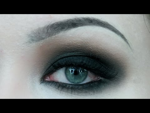 NEUTRAL AND DARK SMOKEY EYES || QUICK AND EASY MAKEUP TUTORIAL