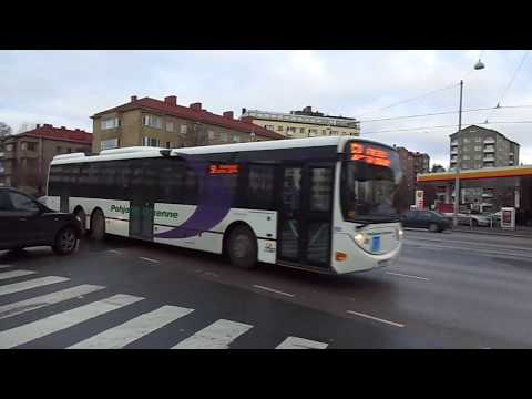 Public transport of Helsinki 1: Trams, buses (13.11.13)