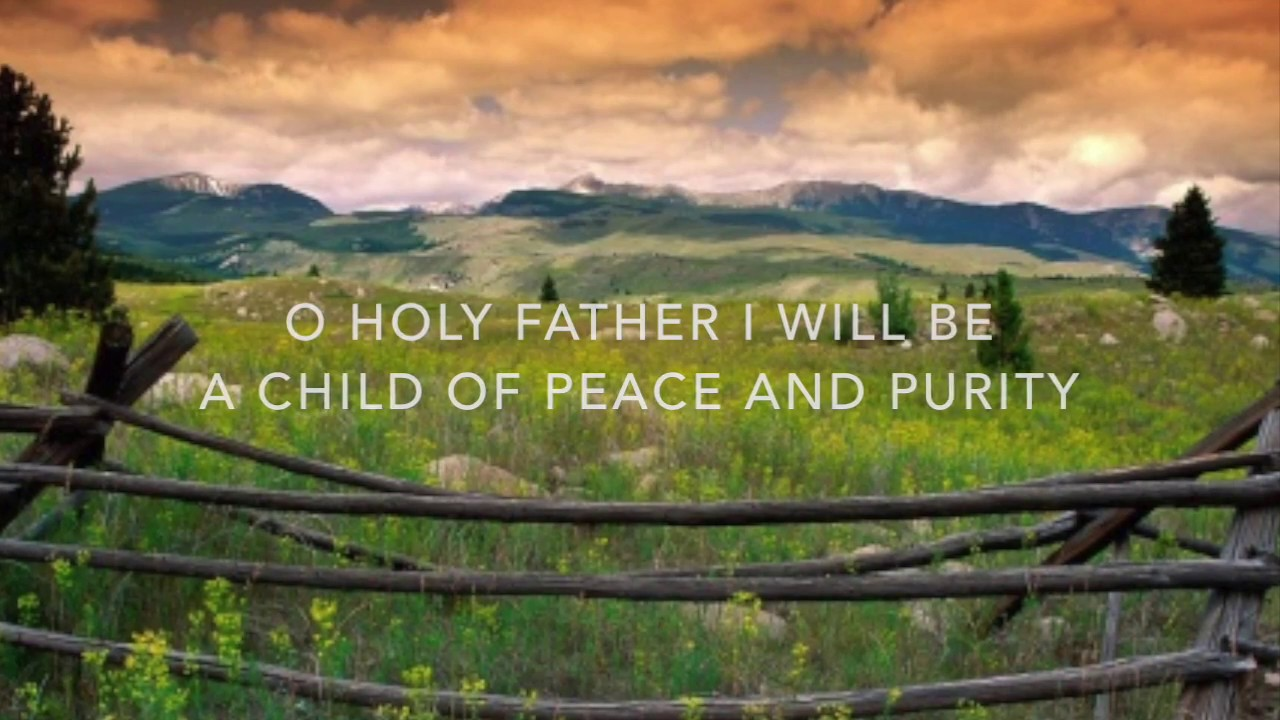 """I Will Be a Child of Peace"" TTBB by Elaine Hagenberg"