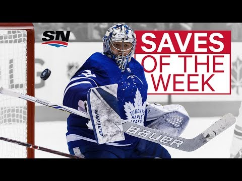 NHL Saves of the Week: Andersen continues to astonish
