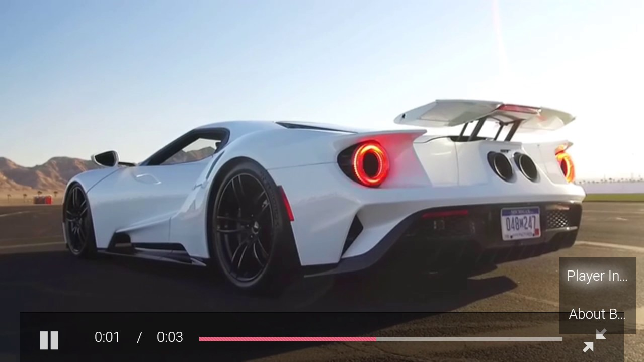 Ford Gt  Ford Gt Engage Race Mode The Video Is Not Speed Up Youtube