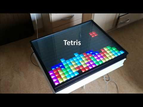 Led Matrix Table 300 Leds Raspberry Pi C Engine