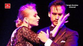 """""""Quejas de bandoneon"""". Juan Manuel and Liza Rosales with """"TANGO EN VIVO"""" orchestra. Танго 2018."""