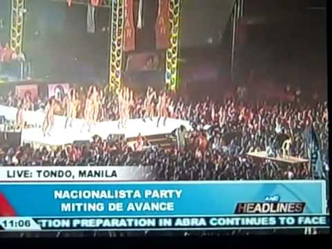 Scenes From Final Election Rally of Nacionalista Party (Philippines)