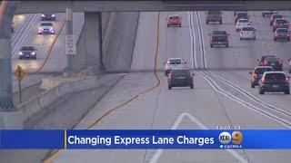 LA County Supervisor Wants To 'Decriminalize' Express Lanes