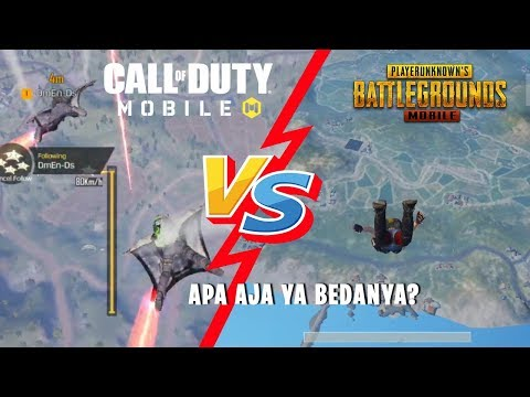 Perbedaan CALL Of DUTY Mobile vs PUBG Mobile