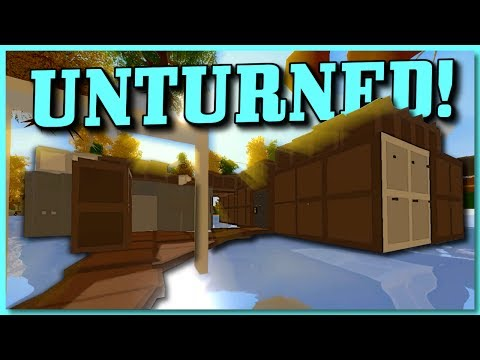 HUGE GLITCH BASE RAID UNDER THE MILITARY BASE! (Unturned Base Raid)
