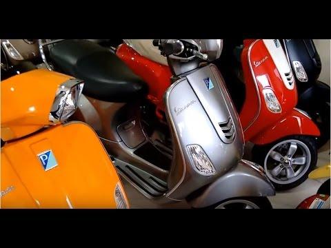 vespa new colors and all models walkaround hd youtube