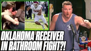 Pat McAfee Reacts To Oklahoma's <b>Spencer Jones</b> Bathroom Fight ...