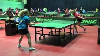 Татьяна ГАРНОВА - Марина АРТАМОНОВА (Полная версия), Настольный теннис, Table Tennis