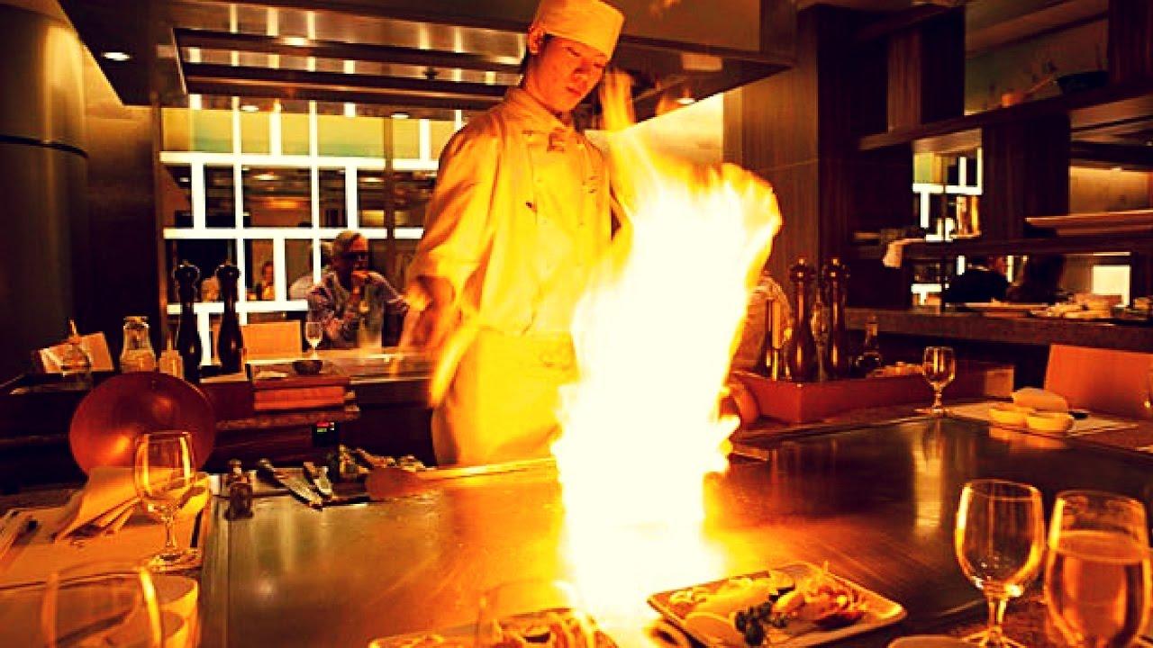 Sazanka in Amsterdam | The only Michelin Star Teppanyaki Restaurant in Europe - YouTube