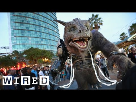 The Giant Creature vs. Angry Dogs Live from San Diego Comic-Con 2014-WIRED Mp3