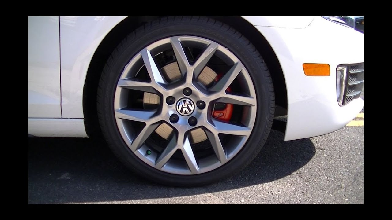 2013 Volkswagen Gti Laguna Alloy Wheels Youtube