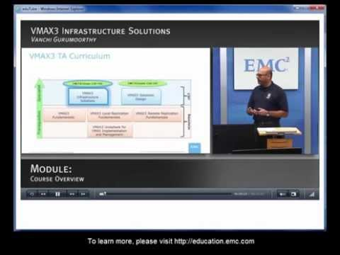 VMAX3 Infrastructure Solutions Course Sample