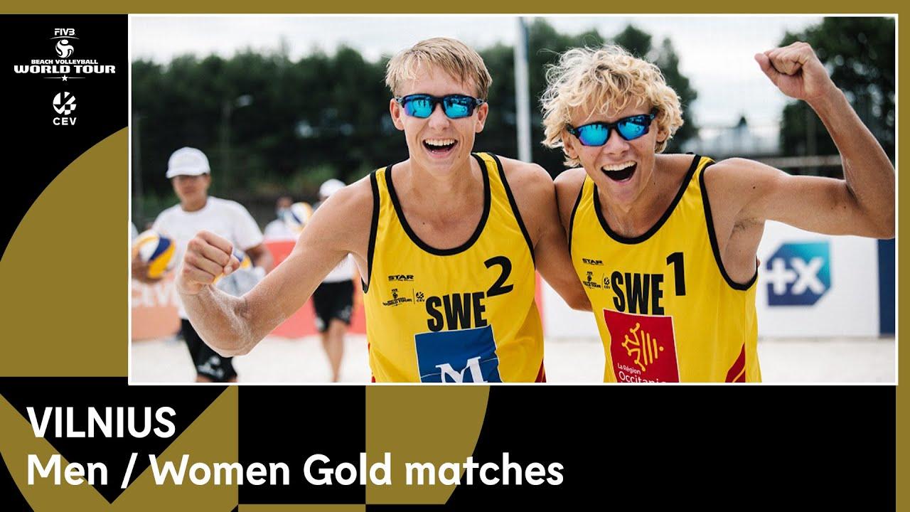 The Finals – Beach Volleyball World Tour 1-Star Vilnius