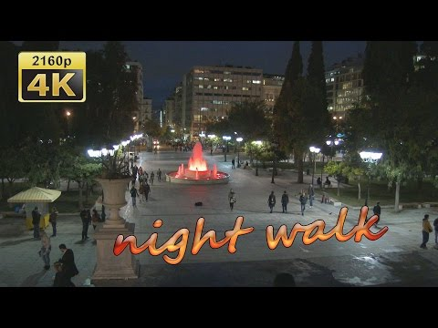 A Walk through the City of Athens - Greece 4K Travel Channel