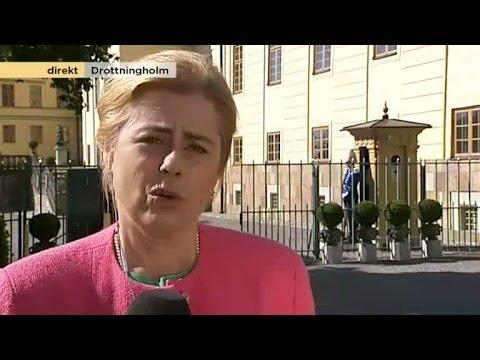 Ritva Rönnberg direktrapporterar från Drottningholm - Nyhetsmorgon (TV4)