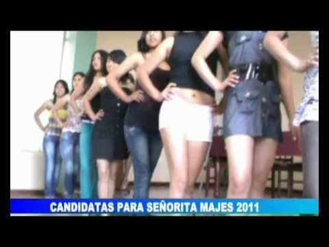 CONFERENCIA DE PRENSA CON CHICAS BONITAS DE MAJES EL PEDREGAL 2011 AREQUIPA PERU