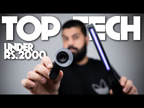 Top Tech 10 Gadgets and Accessories Under Rs. 2000 | iGyaan 4k