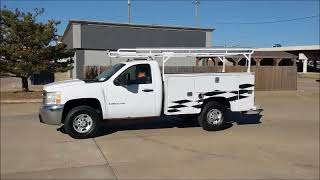 2008 Chevrolet Silverado 2500HD Utility Bed Pickup Truck | No-reserve Auction February 21, 2018
