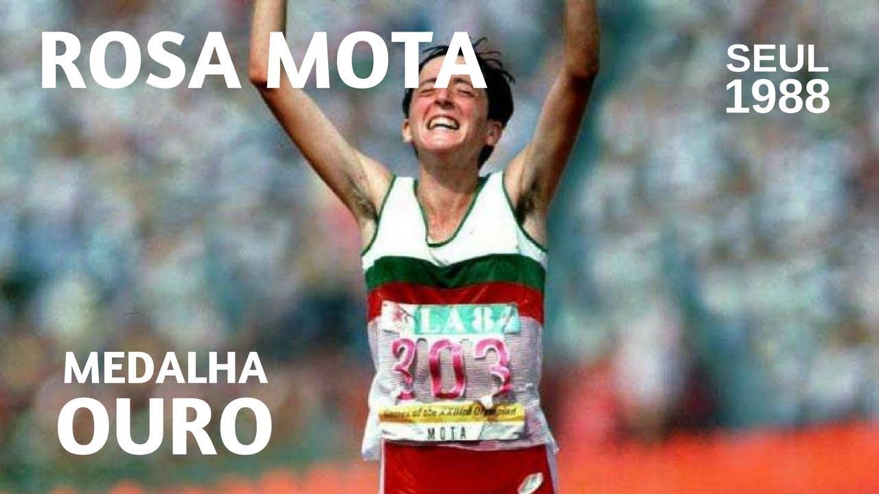 Rosa Mota - Medalha de Ouro (Jogos Olímpicos Seul, 1988)