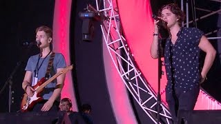 Exclusive: The Vamps rehearsal for The Global Citizen India Concert 2016