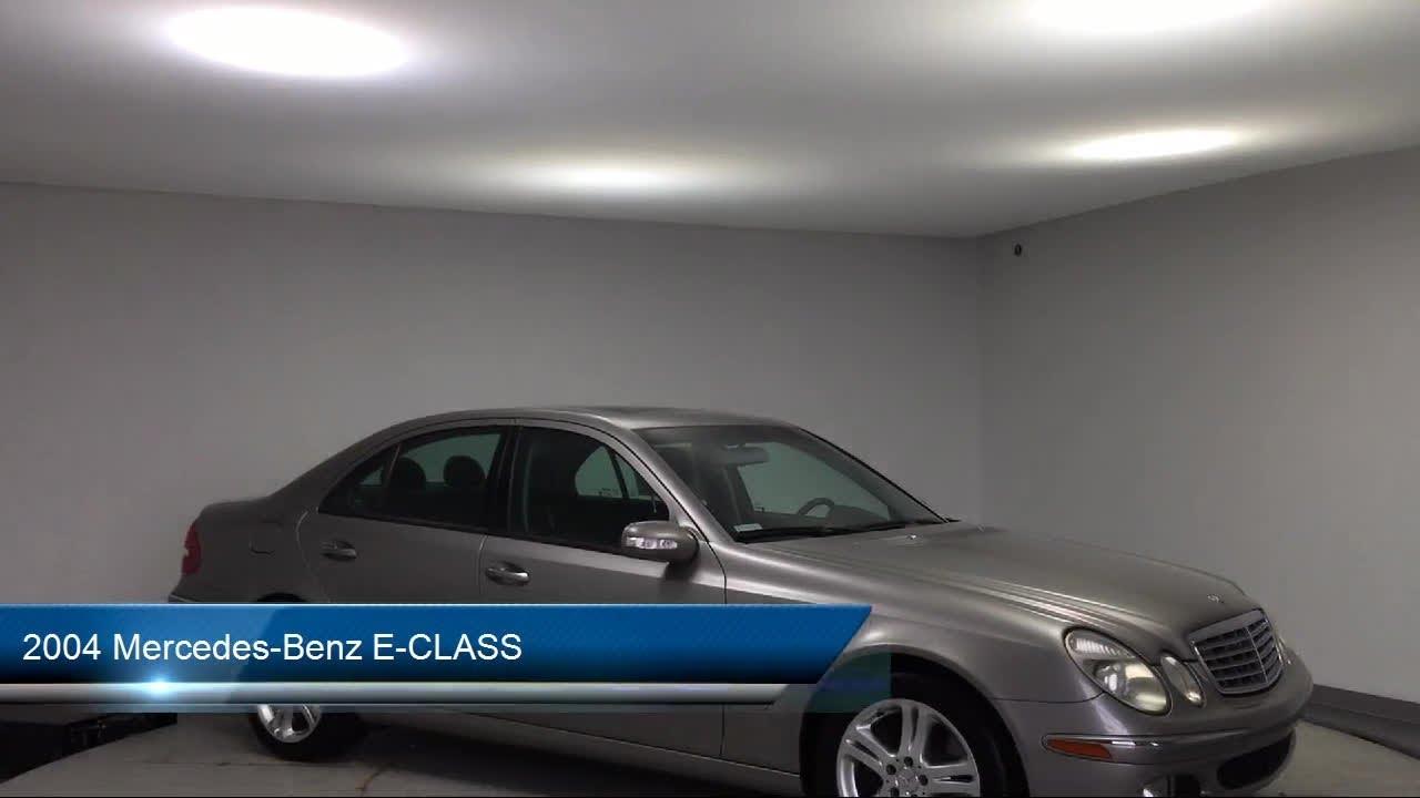 2004 Mercedes-Benz E-CLASS Des Moines Urbandale Newton ...