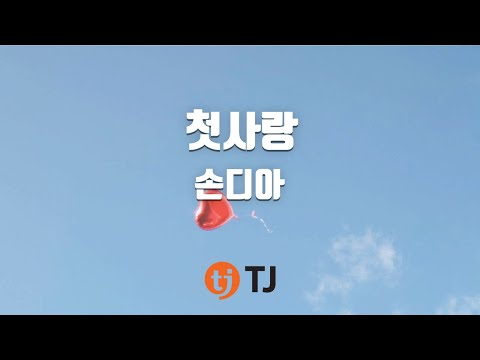 [TJ노래방] 첫사랑(어쩌다발견한하루OST) - 손디아 / TJ Karaoke