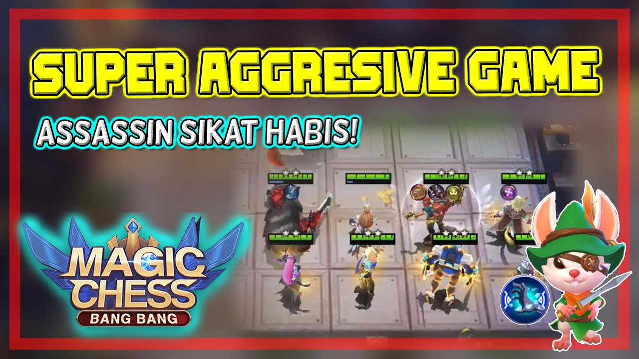 Combo super agresif - Bantai semua musuh! Combo Terkuat Magic Chess - Mobile Legends Bang Bang
