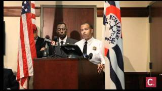 Press Conference regarding Fountain Square shooting