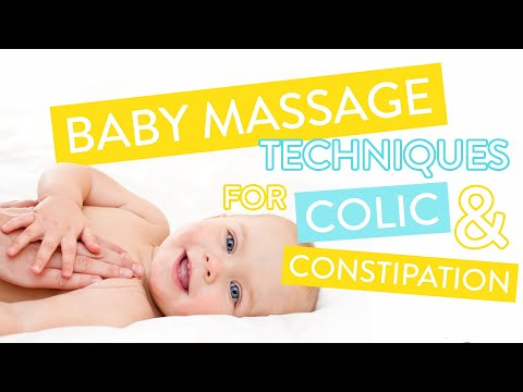 How To Treat Colic & Constipation Baby Massage Course Part Two | Channel Mum