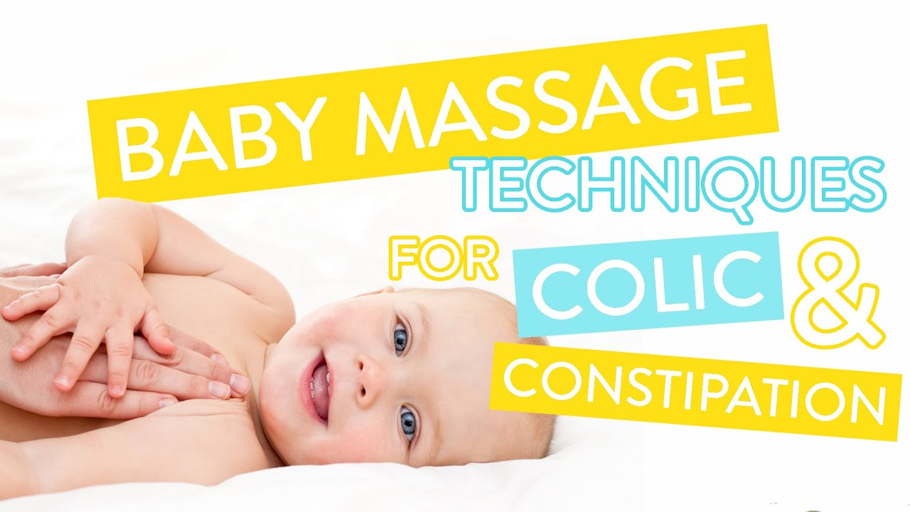 How To Treat Colic Constipation Baby Massage Course Part Two Channel Mum Youtube