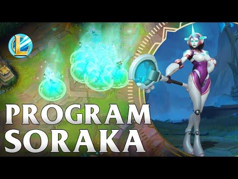 Program Soraka Skin Spotlight - WILD RIFT