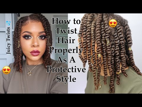how-to-twist-natural-hair-properly-as-a-protective-style---no-added-hair-needed!-*updated*