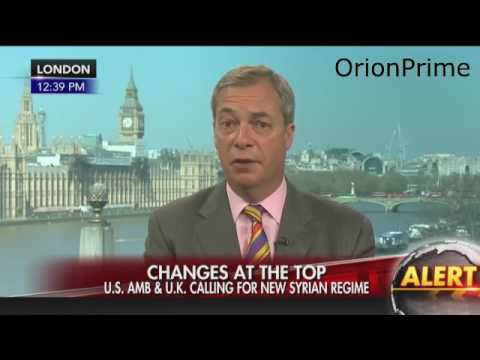 Nigel Farage on Fox and Friends - Changes at the top - Calexit. 9th April 2017