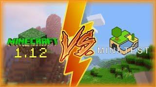 Minecraft 1.12 Vs Minetest